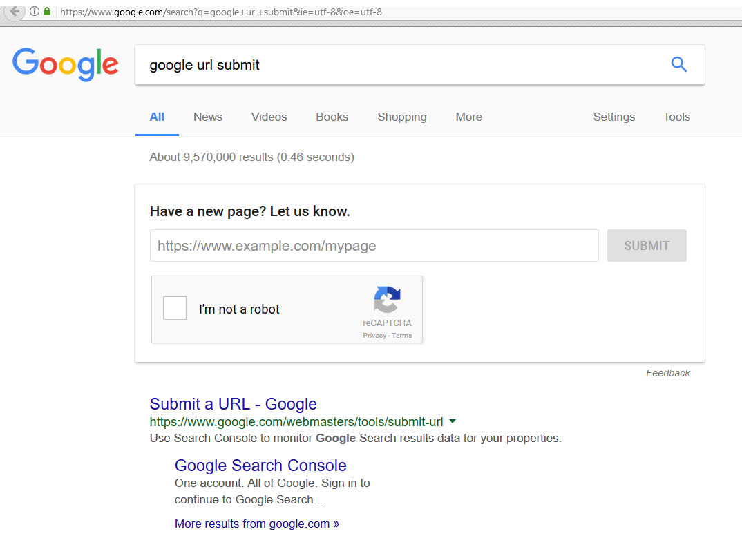 google online submission